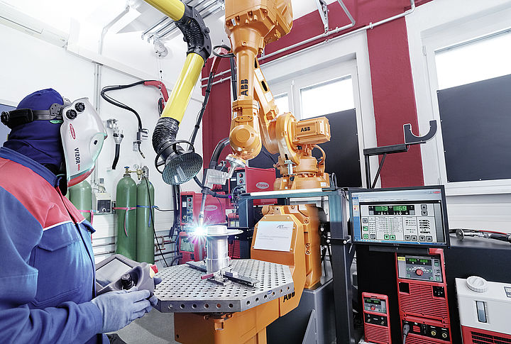 Arbeiten im Additive Manufacturing Labor