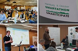 Collage Smartathon Hamburg