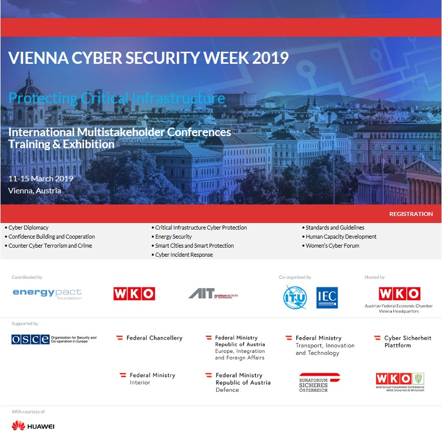 Vienna Cyber Security Week 2019 - AIT Austrian Institute Of